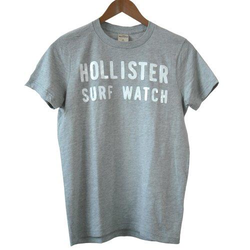 (ホリスター)Hollister Co. メンズ Tシャツ 半袖 200233 【並行輸入品】 (S, 01.グレー)