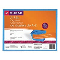 SMD70727 - Smead Antimicrobial A-Z Accordion Expanding File by Smead