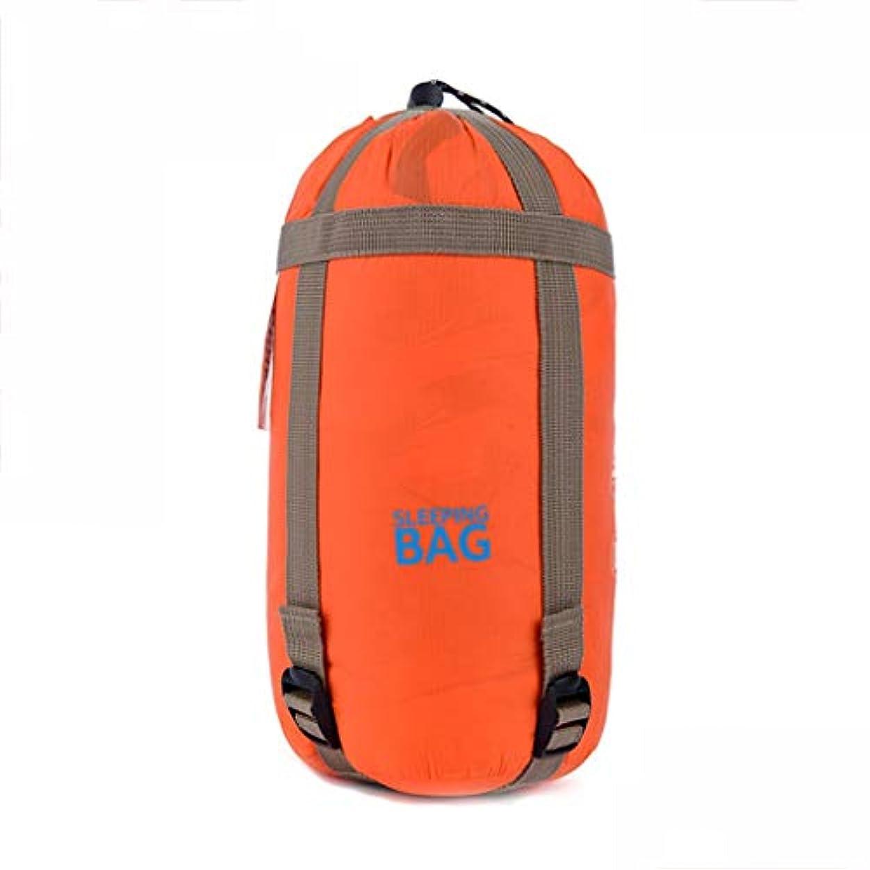 怒っているパックファンブルキャンプの寝袋屋外の寝袋シングル寝袋軽量で夏の薄いセクションを運ぶのは簡単 GBYGDQ (Color : A)