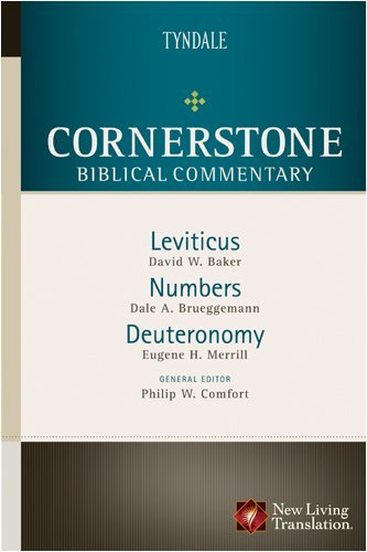 Leviticus, Numbers, Deuteronomy (Cornerstone Biblical Commentary Book 2) (English Edition)