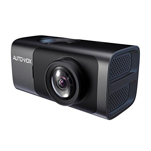 AUTO-VOX D7 Wi-Fi内蔵 スマートフォン連動ドライブレコーダー 常時録画 ジェスチャー撮影 GPS/Gセンサー/WDR搭載 1080P フルHD 165°広角