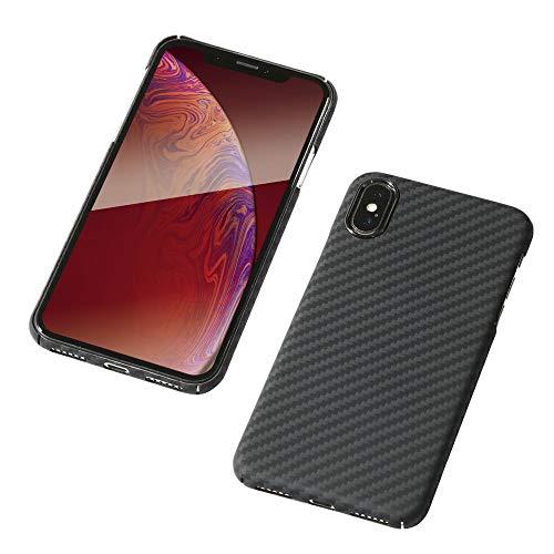 Deff(ディーフ) アラミド繊維 超軽量ケース Ultra Slim & Light Case DURO for iPhone XS/X ケブラー使用 防弾チョッキ素材 (マットブラック)