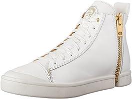 ホワイト メンズ スニーカー ZIP-ROUND S-NENTISH - sneaker mid Y01172P1159 H1800 44