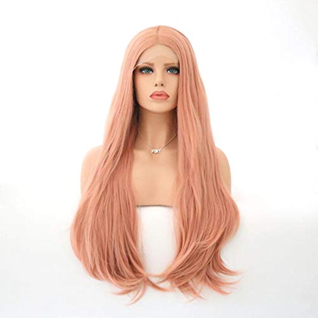 うまくいけばドルシュリンクKerwinner 女性のための自然な長い巻き毛のかつらの代わりとなるかつら合成繊維の毛髪のかつら