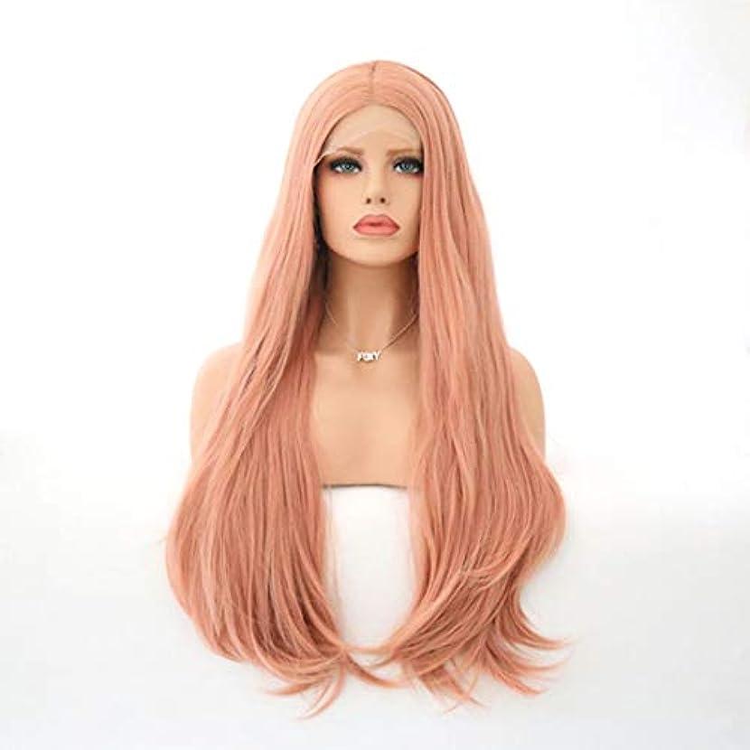 集中的なラボリア王Kerwinner 女性のための自然な長い巻き毛のかつらの代わりとなるかつら合成繊維の毛髪のかつら