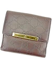 3f3fea4f7f65 Amazon.co.jp: 中古 - GUCCI 二つ折り財布 / GUCCI: ファッション