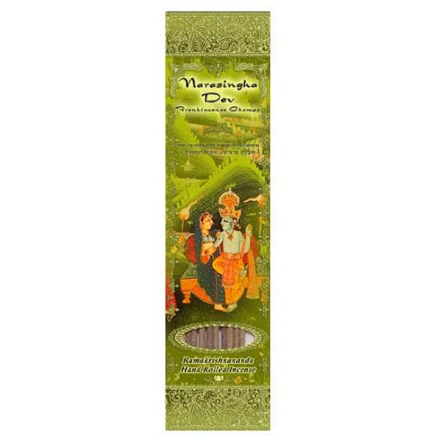 煙突パイ販売計画Incense Sticks Narasingha Dev – Frankincense Champa