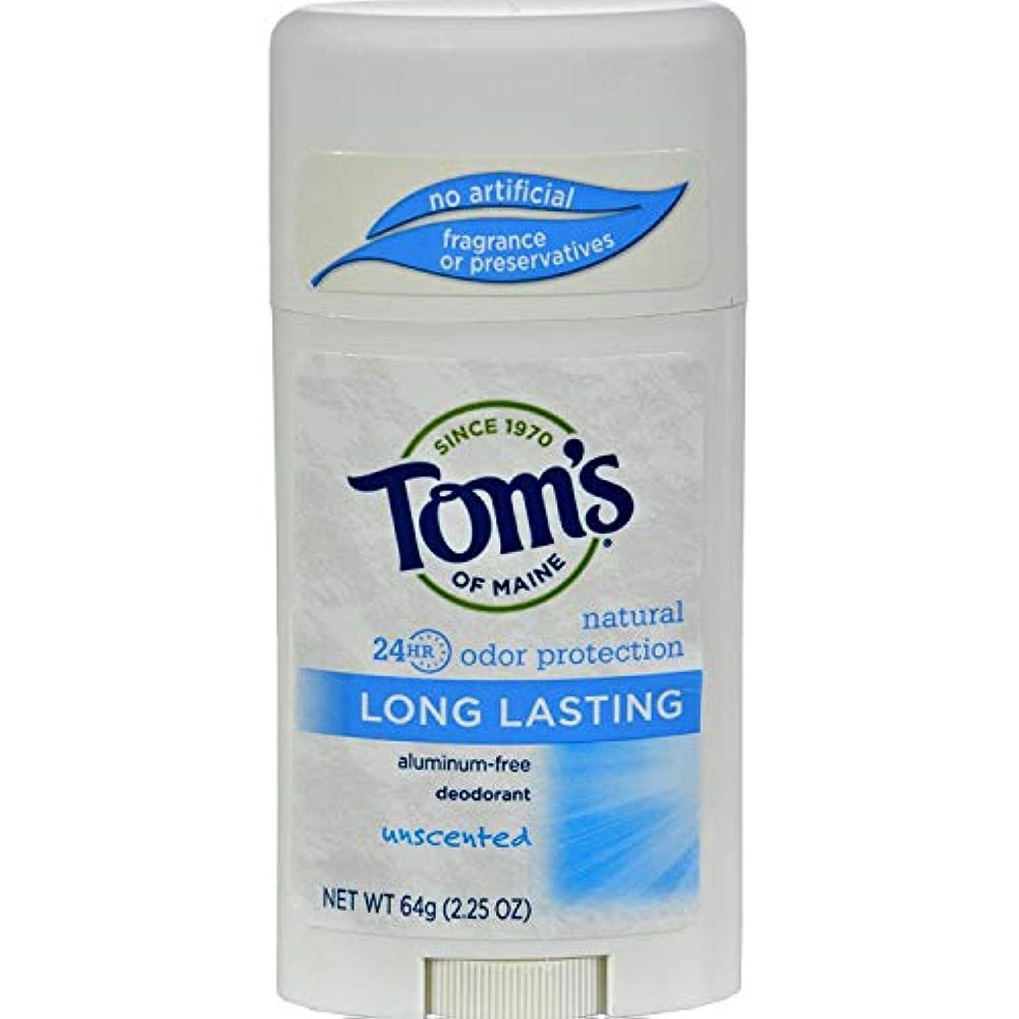 恵みプライム設計図Tom's of Maine ナチュラルケアデオドラントスティック無香料2.25オズ(2パック)海外直送