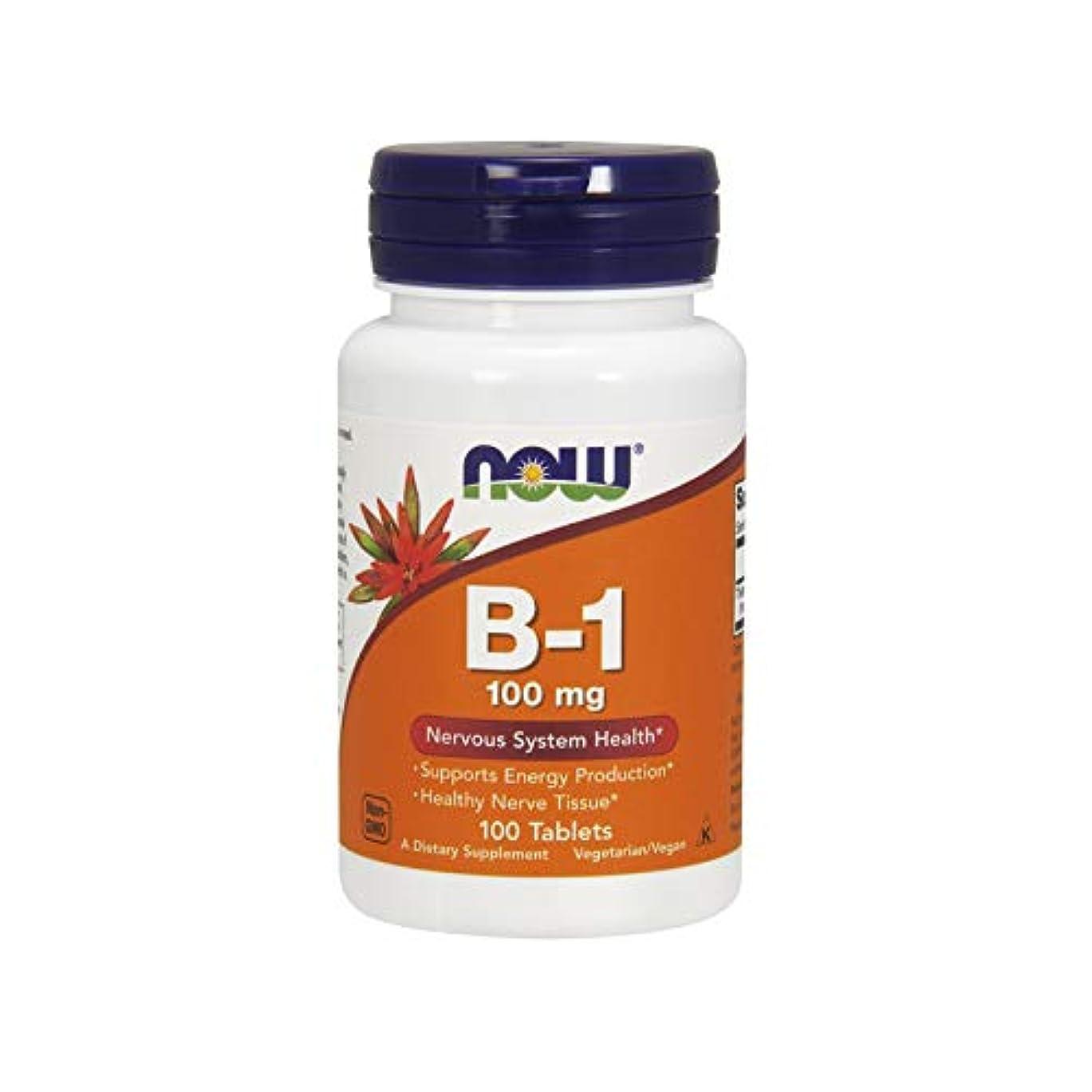 南東投資する自分自身海外直送品 Now Foods B-1, 100 Tabs 100 mg