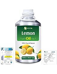 Lemon (Citrus limonum) 100% Natural Pure Essential Oil 5000ml/169fl.oz.
