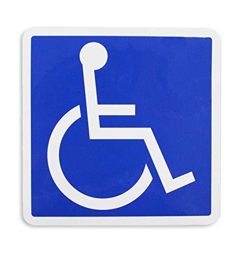 ポケット(Pocket) 国際シンボルマーク 車椅子マーク ステッカー マグネット タイプ...