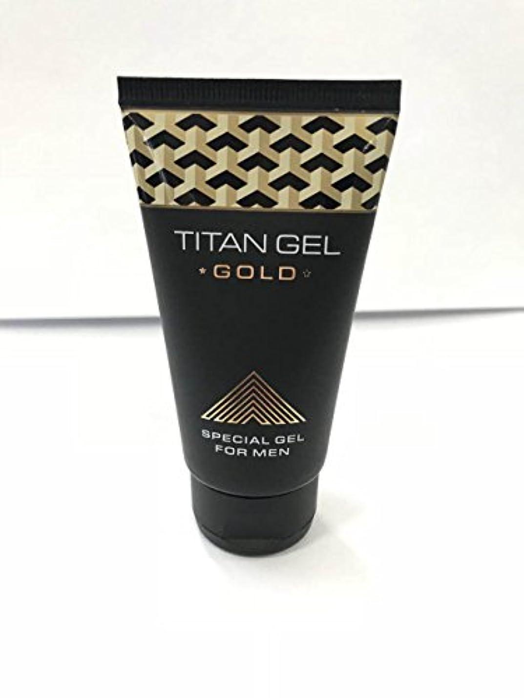機械的シーサイド好奇心盛タイタンジェル ゴールド Titan gel Gold 50ml 4箱セット 日本語説明付き [並行輸入品]