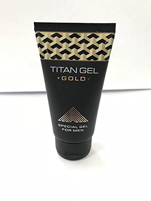 ズームなめらかレールタイタンジェル ゴールド Titan gel Gold 50ml 4箱セット 日本語説明付き [並行輸入品]