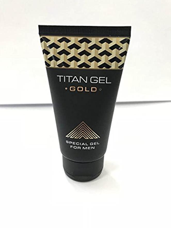 タイタンジェル ゴールド Titan gel Gold 50ml 4箱セット 日本語説明付き [並行輸入品]