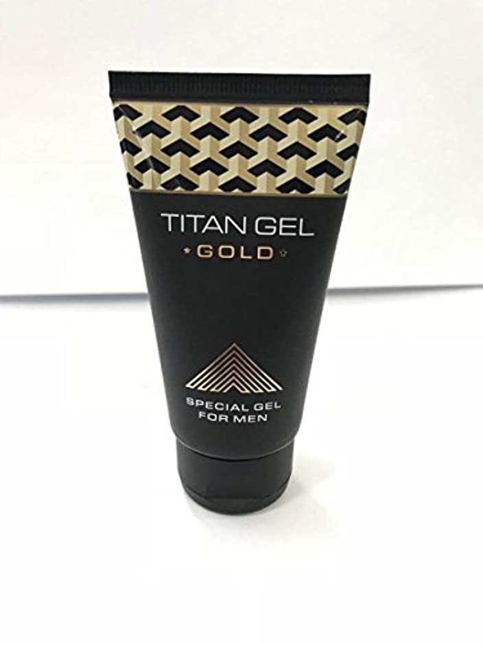 暴露生態学効果的タイタンジェル ゴールド Titan gel Gold 50ml 4箱セット 日本語説明付き [並行輸入品]