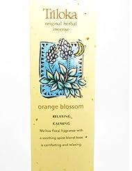 Triloka - 元の草の香のオレンジの花 - 10棒