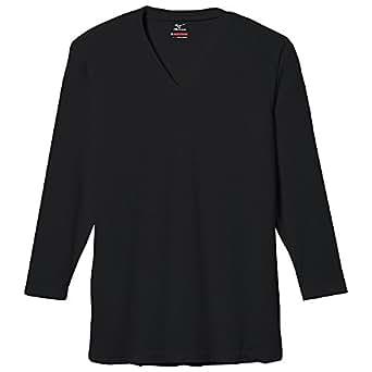 (ミズノ)MIZUNO ブレスサーモ エブリ Vネック 長袖シャツ [メンズ] C2JA5601 09 ブラック L