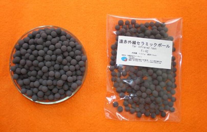 不安定可塑性鑑定遠赤外線セラミックボール 直径6.2ミリ/100g