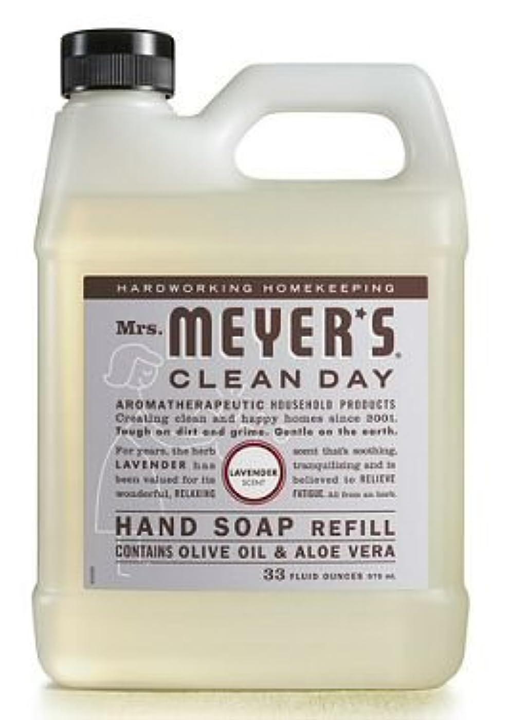 会議真実にアテンダントMrs. Meyer's Clean Day ミセスマイヤーのハンドソープ、Liqの、REFL、Lvndr、33 Fzの6パック