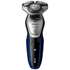 フィリップス 5000シリーズ メンズ 電気シェーバー 27枚刃 回転式 お風呂剃り & 丸洗い可 トリマー付 S5215/06