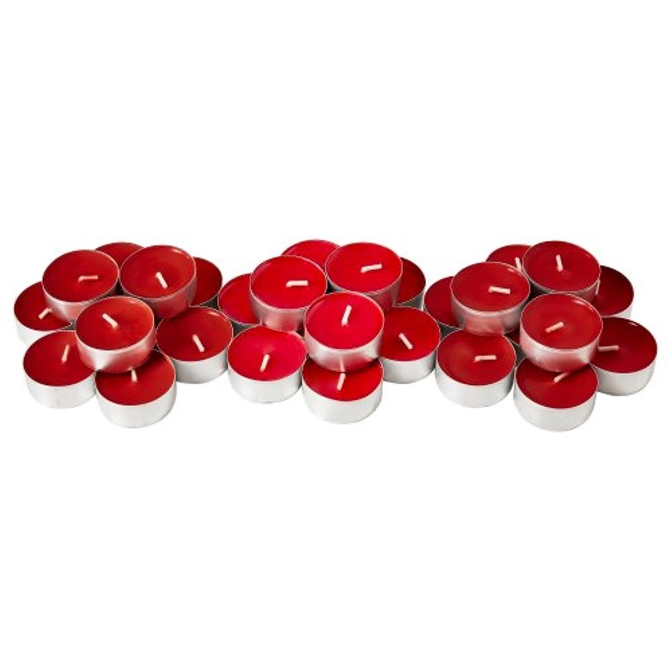 お祝い静かなアプライアンスIKEA SINNLIG 30237708 香り付ティーライト スイートベリー レッド 30 ピース