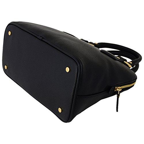 (ヴィヴィアンウエストウッド)Vivienne Westwood ヴィヴィアンウエストウッド アングロマニア バッグ ハンドバッグ 手提げ 2WAY DIVINA VWW 7281V BLACK ブラック 黒 [並行輸入品]