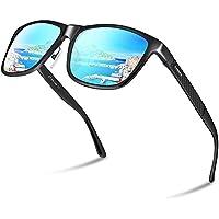 PAERDE 偏光 サングラス メンズ 運転 軽量 UV400 紫外線カット スポーツサングラス 自転車/釣り/テニス/スキー/ランニング/ゴルフ/ドライブ PA05