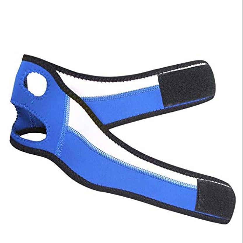 閉塞ループ確保するGLJJQMY 薄い顔の包帯の引き締めの引き締まる皮は二重あごの小さいVの表面包帯のマスク修理マスクを減らします 顔用整形マスク