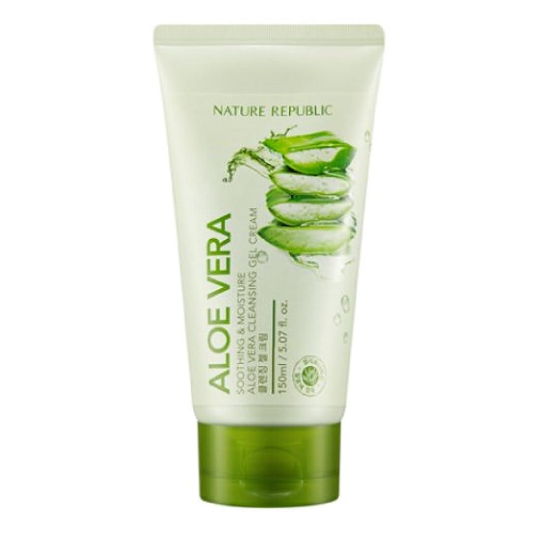 ちなみにバイオリントラフ[ネイチャーリパブリック] Nature republicスージングアンドモイスチャーアロエベラクレンジングジェルクリーム海外直送品(Soothing And Moisture Aloe Vera Cleansing Gel...