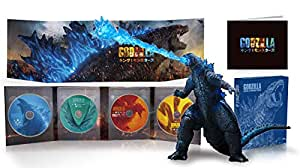 【Amazon.co.jp限定】ゴジラ キング・オブ・モンスターズ 完全数量限定生産4枚組 S.H.MonsterArts GODZILLA[2019] Poster Color Ver. 同梱(Amazon.co.jp限定:オリジナルA4クリアファイル+日本オリジナルスチールブック付き) [Blu-ray]