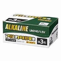 ヤザワ 【お買い得品 40本セット】 アルカリ乾電池 単3形 4本パック×10 シュリンクパック LR6Y4S_10set