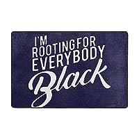 I'm Rooting For Everybody ハイエンドのファッションシンプルなポップな絶妙なフランネルファブリックマット