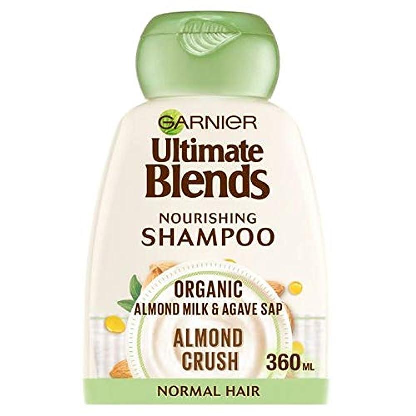 維持するスーツケースおばさん[Ultimate Blends ] ガルニエ究極は、アーモンドミルク、通常のヘアシャンプー360ミリリットルをブレンド - Garnier Ultimate Blends Almond Milk Normal Hair...