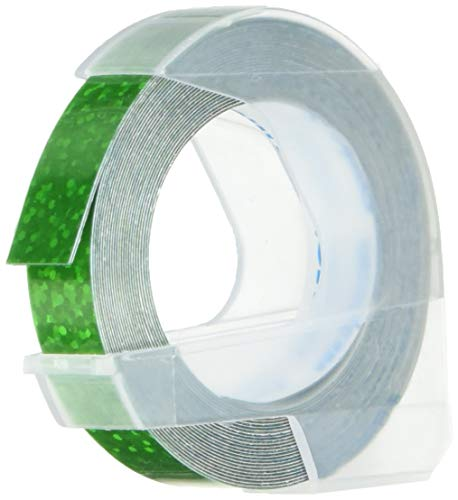 テープ 幅9mm 長さ3m つやあり グリッターグリーン 2巻 DM0903GGR2