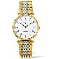 ロンジンl49082117La Grande Classique自動レディース腕時計–ホワイトダイヤル