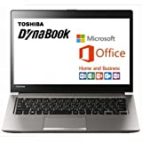 東芝 dynabook R63 PR63WEAA63CQD11 Windows10 Pro 64Bit Core i5 4GB SSD128GB 光学ドライブ非搭載 高速無線LAN IEEE802.11ac/a/b/g/n Bluetooth Microsoft Office Home and Business 2016 13.3型LED液晶搭載ノートパソコン 薄型軽量重さ約1.199kg バッテリー駆動時間最大約19時間 (MS Office H&B付属)