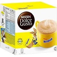 ネスカフェ ドルチェグスト(DOLCE GUSTO)  NESQUIK - カプセル 16杯分×4箱 - 並行輸入品