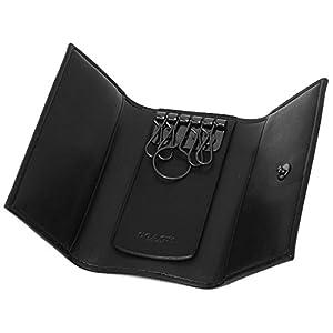 [コーチ] キーケース アウトレット メンズ COACH F26104 CQBK チャコール ブラック [並行輸入品]
