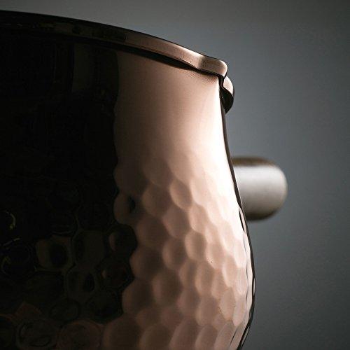 和平フレイズ ミルクパン 12cm 燕三 純銅 ミラー仕上 EM-9559