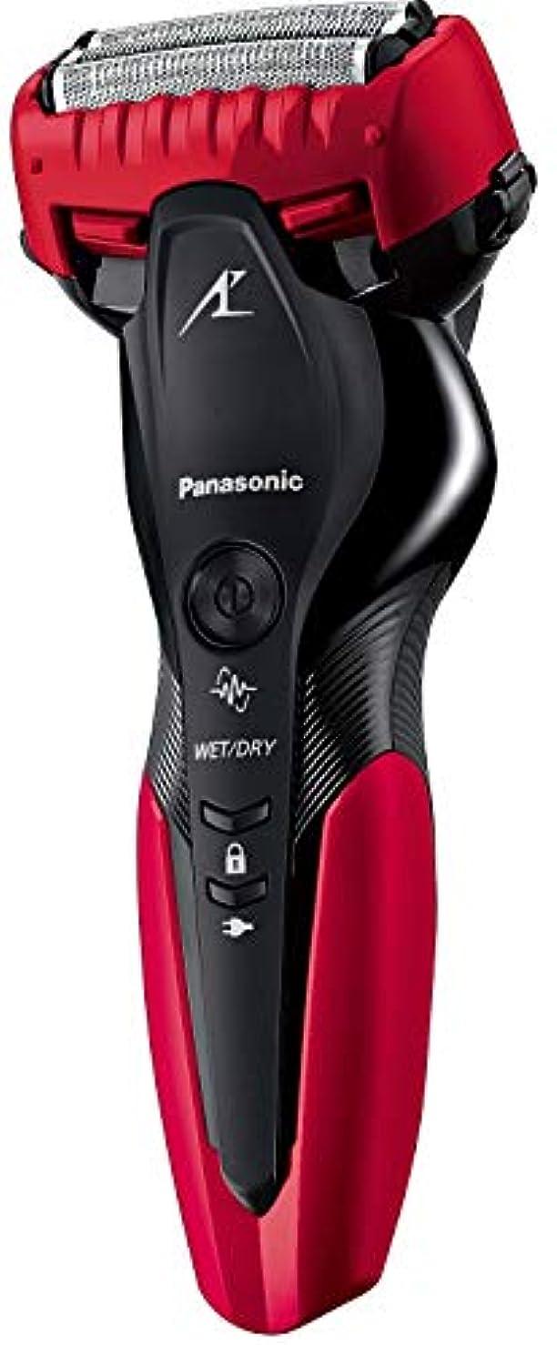 反抗ダイジェスト心理的にパナソニック ラムダッシュ メンズシェーバー 3枚刃 お風呂剃り可 赤 ES-CST2R-R