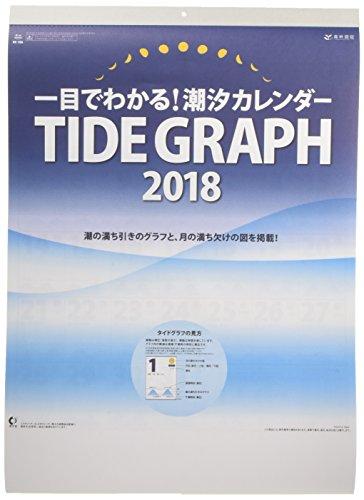 新日本カレンダー 2018年 潮汐カレンダー 壁かけ NK156