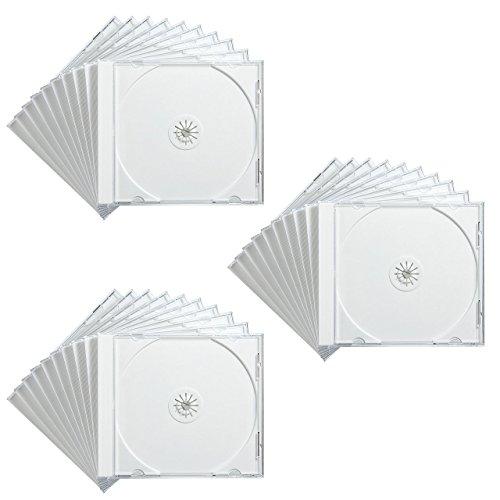 サンワサプライ DVD・CDケース(ホワイト) FCD-PN30W 1セット(30枚り)