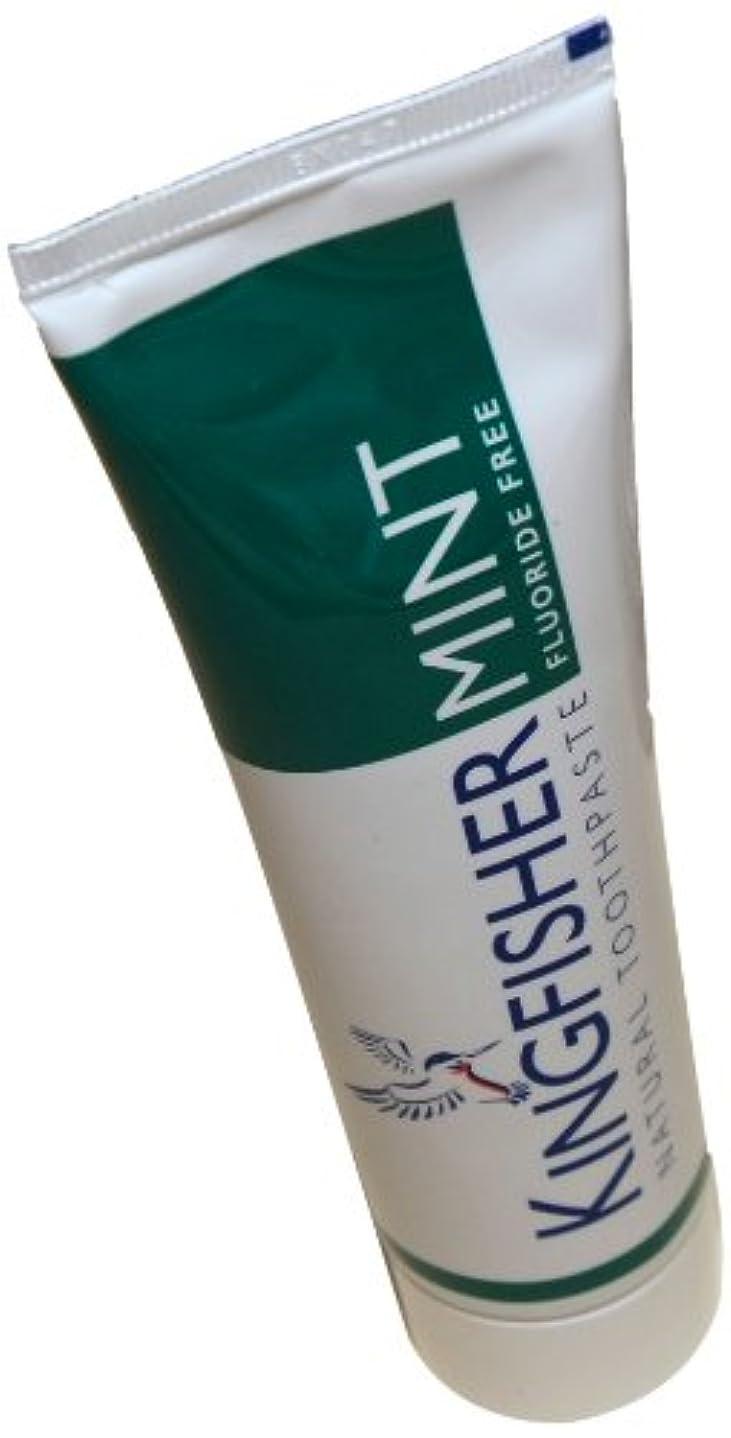 オーバードロー神経トリッキーKingfisher Mint Fluoride Free Toothpaste 100 ML / ???????????????????????100 ML