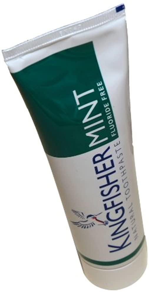 ファーザーファージュ注入するるKingfisher Mint Fluoride Free Toothpaste 100 ML / ???????????????????????100 ML