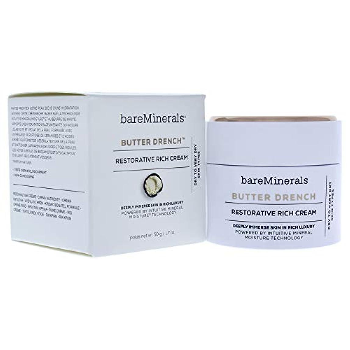 床を掃除するチーター結び目ベアミネラル Butter Drench Restorative Rich Cream - Dry To Very Dry Skin Types 50g/1.7oz並行輸入品