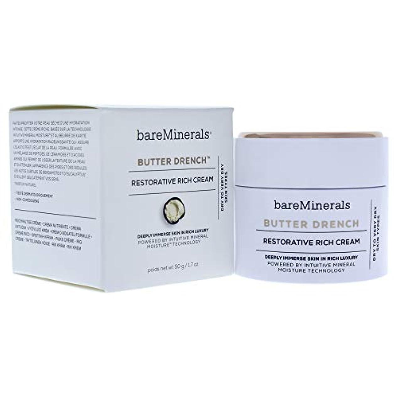 ベアミネラル Butter Drench Restorative Rich Cream - Dry To Very Dry Skin Types 50g/1.7oz並行輸入品