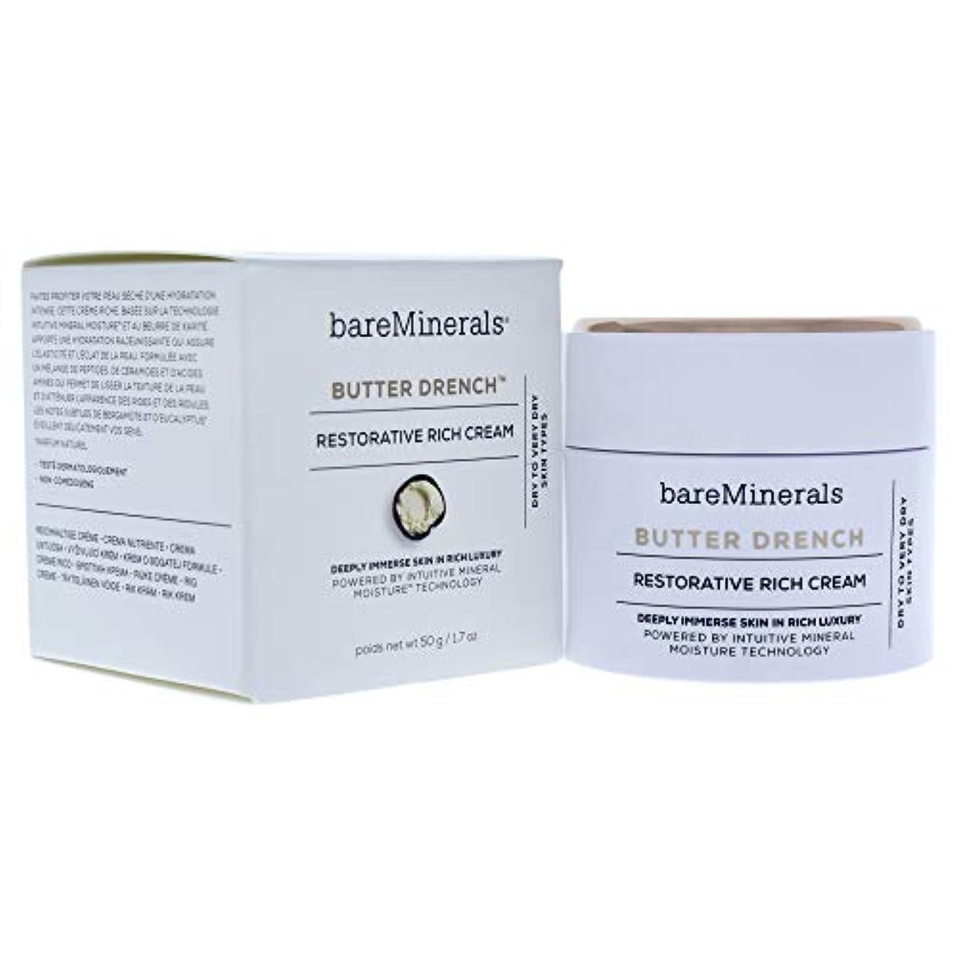 起きろばかげた中断ベアミネラル Butter Drench Restorative Rich Cream - Dry To Very Dry Skin Types 50g/1.7oz並行輸入品
