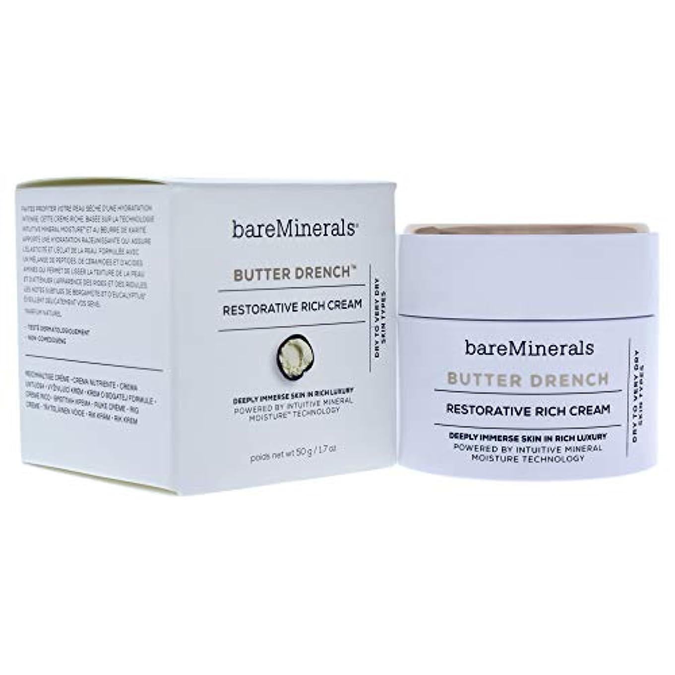 信頼面倒愛国的なベアミネラル Butter Drench Restorative Rich Cream - Dry To Very Dry Skin Types 50g/1.7oz並行輸入品