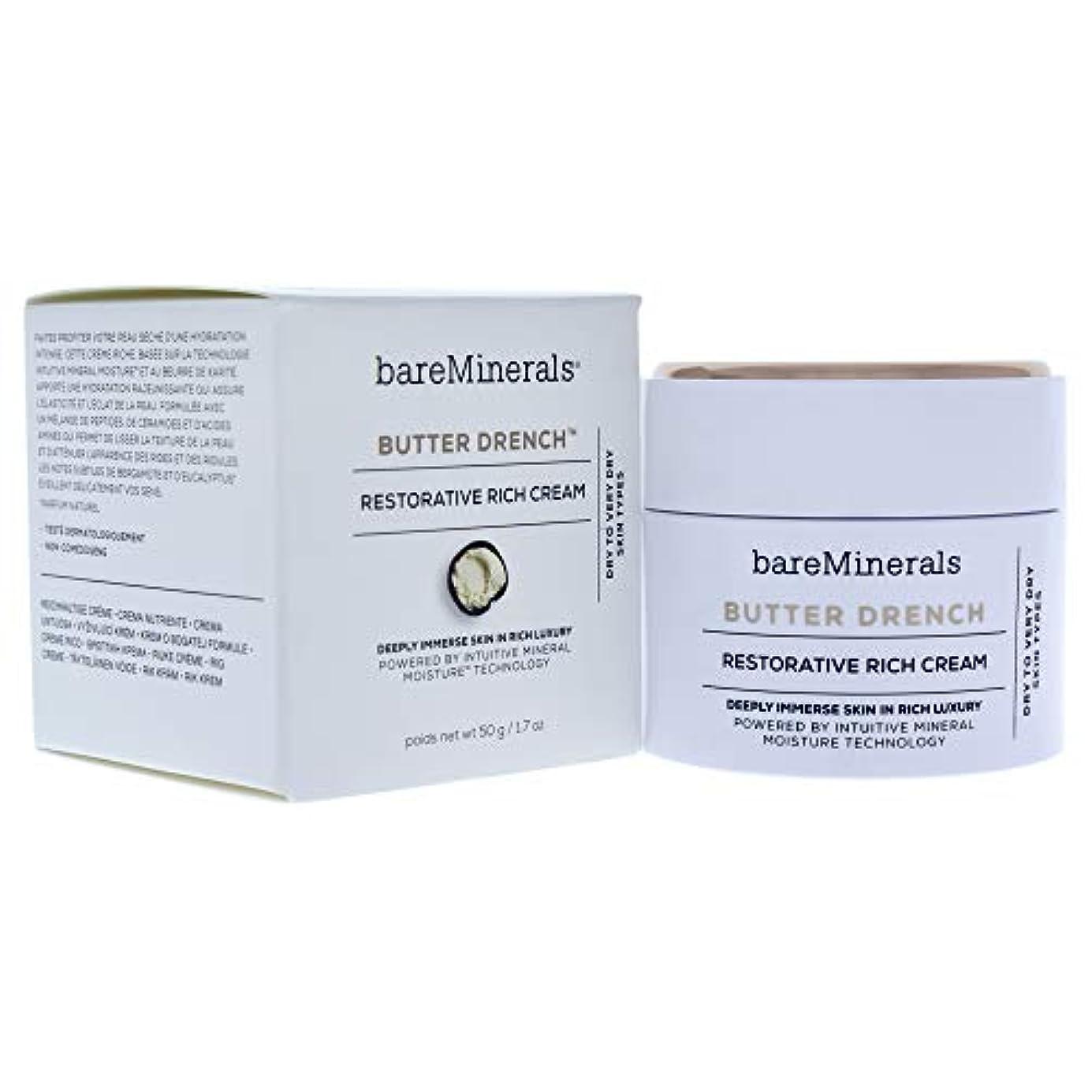 いらいらさせる愚か不規則なベアミネラル Butter Drench Restorative Rich Cream - Dry To Very Dry Skin Types 50g/1.7oz並行輸入品