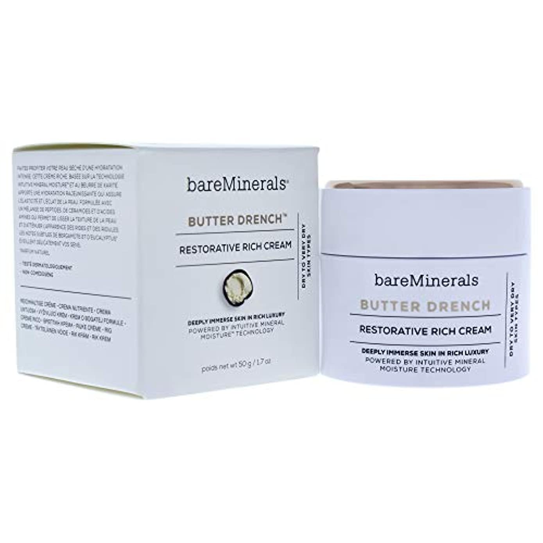 ジェーンオースティンうがい夏ベアミネラル Butter Drench Restorative Rich Cream - Dry To Very Dry Skin Types 50g/1.7oz並行輸入品